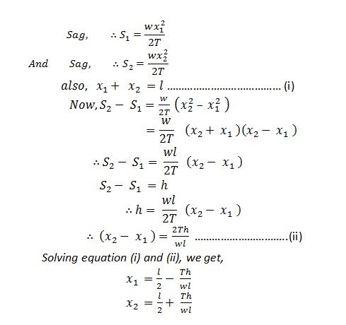 Sag calculation in overhead line   Electricalunits com
